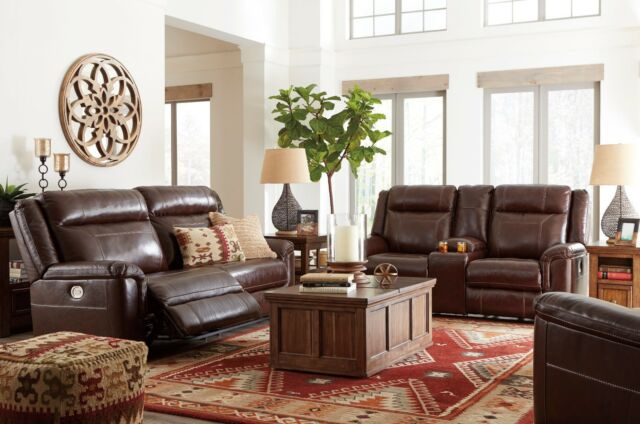 Super Ashley Furniture Wyline Power Leather Reclining Sofa And Loveseat Pdpeps Interior Chair Design Pdpepsorg