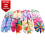 40pcs 20 Pairs Baby Girls Hair Bows Tied For Toddler Hair bands Alligator Clips