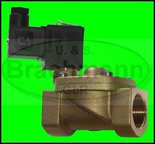 "Magnetventil 1"" Messing 230V /50Hz 16bar VITON FKM"