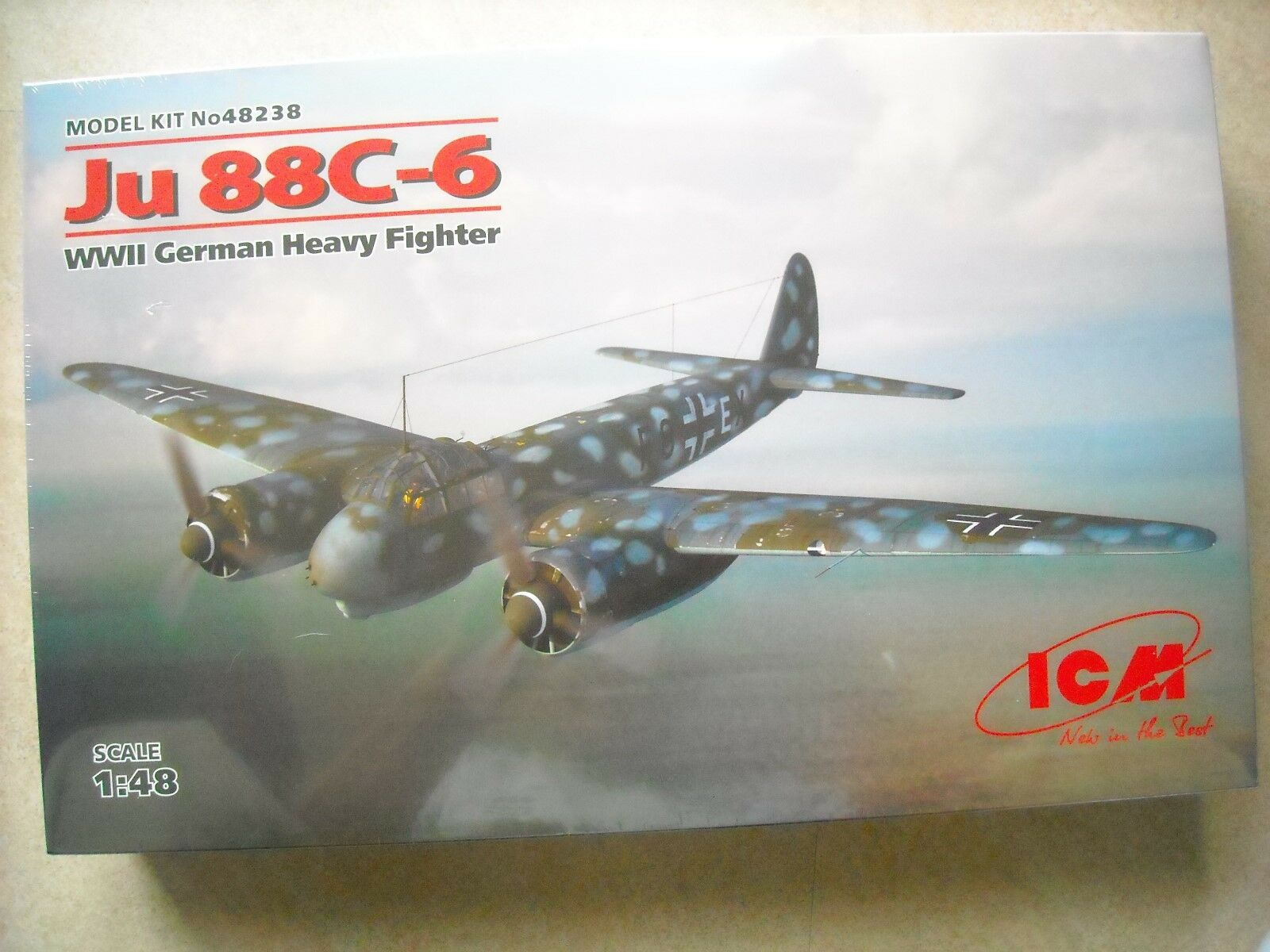ICM-1 48-JU 88C-6 WWII GERMAN HEAVY FIGHTER
