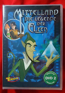 Mittelland-Die-Legende-der-Elfen-DVD-2-Neuauflage-DVD-2005-NEU