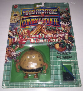 FOOD FIGHTERS | CHIP THE RIPPER | MATTEL 1988 | NEW MOSC MOC SEALED | #1881