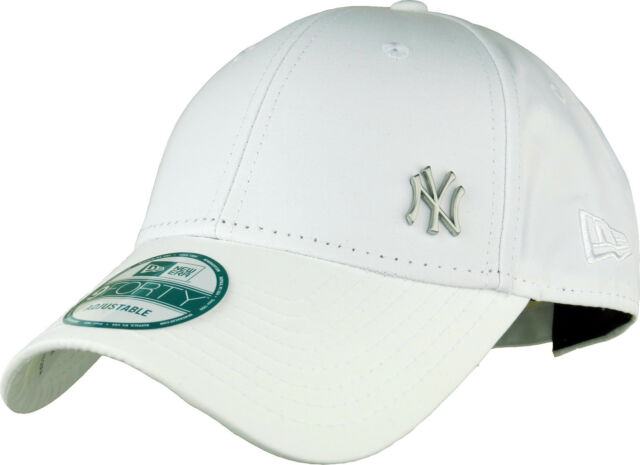 44dd46e8cab Era 9forty Flawless NY Yankees Adjustable Baseball Cap White for ...
