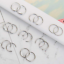 32Pcs-20G-Surgical-Steel-Nose-Rings-Hoop-Tragus-Cartilage-Helix-Ring-Piercing thumbnail 6