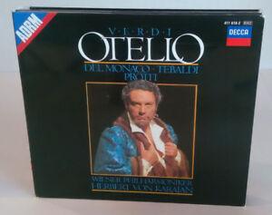 VERDI - OTELLO - MARIO DEL MONACO - DECCA - Cofanetto CD - OPERA