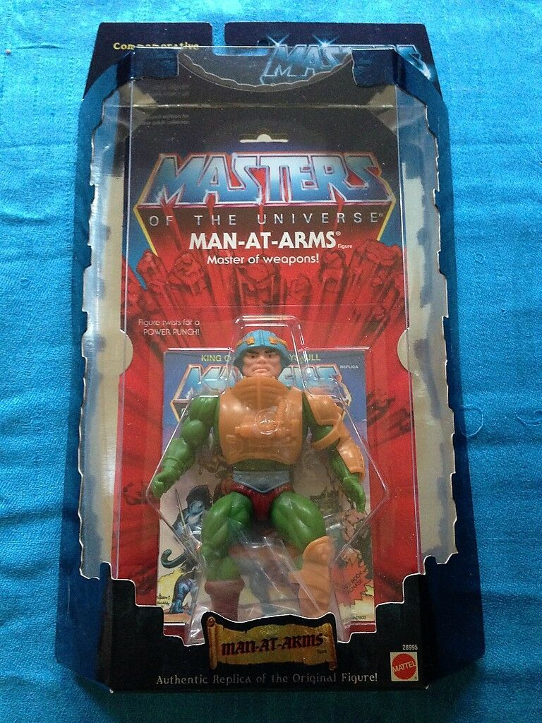 Masters of the Universe - Man-at-Arms - Mattel - MotU - Authentic Replica