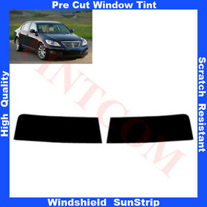 Pre-Cut-Window-Tint-Sunstrip-for-Genesis-4-Doors-Saloon-2008-Any-Shade