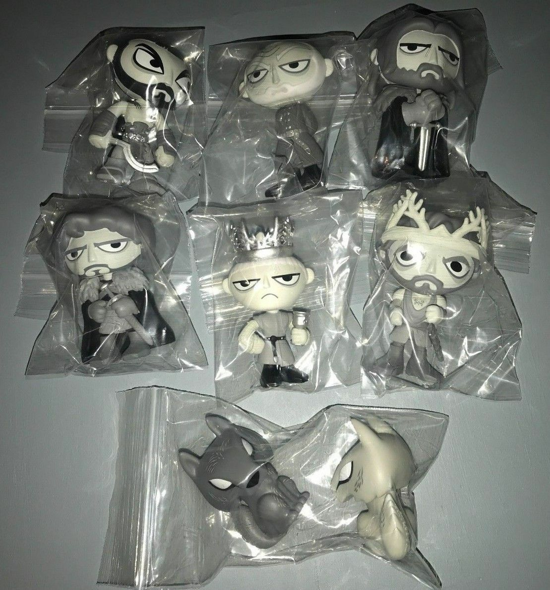 Funko Mystery Minis - Game of Thrones - In Memoriam SDCC Complete Set of 8 Lady