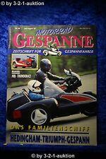Motorrad Gespanne Nr.40 4/97 HBJ Thunderace Hedingham Triumph Gespann