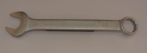 25 mm Chrom-Vanadium Maulringschlüssel Gabelringschlüssel Ringmaulschlüssel