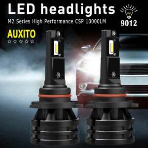 10000LM-9012-LED-Headlight-Kit-Bulbs-HI-LOW-Beam-Super-WHITE-6000K-HIR2-100W-2X