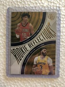 2019-20-Illusions-GOLD-Anthony-Davis-Rookie-Reflections-020-125