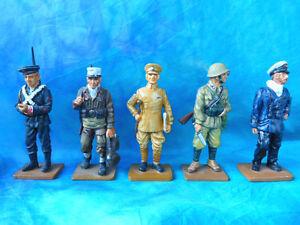 5-soldats-de-plomb-Delprado-034-Deux-guerres-mondiales-034-BU-6-lot-2