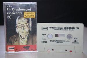 UNTERNEHMEN-JOCOTOBI-2-Ein-Drachen-und-ein-Schatz-MC-Kassette-EUROPA-Hoerspiel