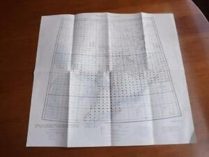 MAP-1962-CANADA-MINES-AND-TECHNICAL-SURVEYS-TOPOGRAPHIC-LAKE-HURON-ERIE-ONTARIO