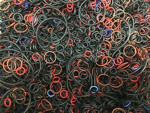40g-APPROX-100-ASSORTED-RUBBER-O-RINGS-PLUMBING-WASHERS-SEALS-HOSE-SHOWER-BATH