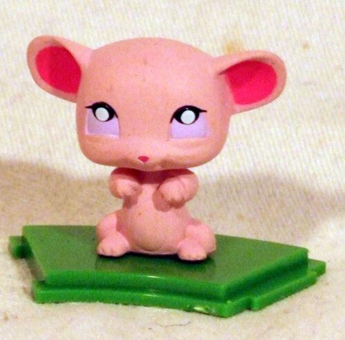 LPS Littlest Pet Shop Figur Maus auf Podest zum Aufstecken Neu