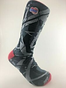 Official NBA Basketball Los Angeles Clippers Abstract Team Logo Crew Socks Lg