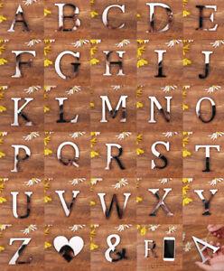 Mirror-Wall-Sticker-Mirror-Effect-26-Alphabet-Letters-Art-Decor-Acrylic-Silver