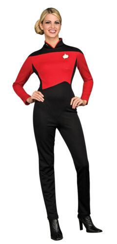 STAR TREK NEXT GENERATION ~ LADIES RED JUMPSUIT M 12-14