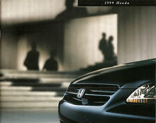 1999 Honda Automobiles Civic Accord  Prelude CR-V - Passport Dealer Brochure