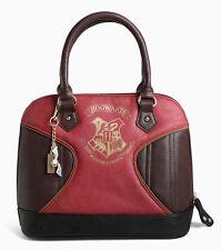 """Harry Potter """"Hogwarts Crest"""" Charm Purse Gryffindor Shoulder Bag Satchel - NWT"""