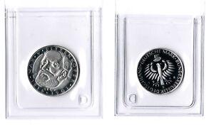 5 Mark 1968 D Pettenkofer Commemorative Coin IN Plastic Sleeve Proof ( Pf) (2)