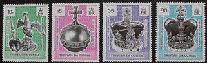 40th-anniversary-of-coronation-stamps-1993-Tristan-da-Cunha-SG-ref-542-545-MNH
