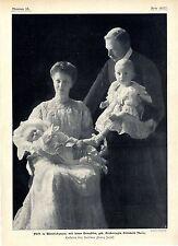 Fürst zu Windischgraetz mit seiner Gemahlin Enkelin des Kaiser Bilddokument 1905