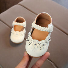 e9c8d5f382f3 2018 Toddler Baby Girls Soft Sole Princess Flower Leather Single Shoes 0-4Y  Cute
