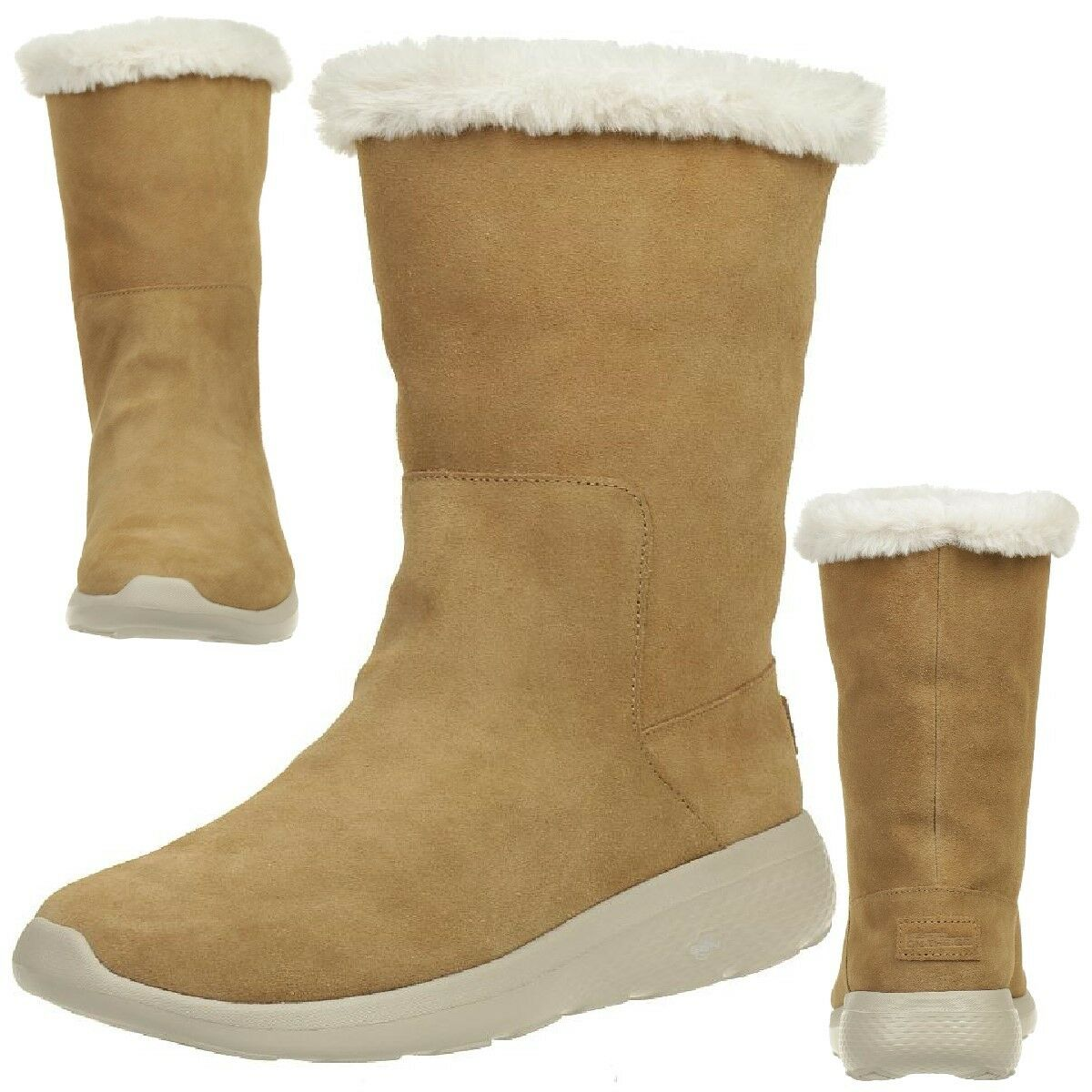 Skechers on the go City 2 appealing botas señora invierno zapatos forradas csnt
