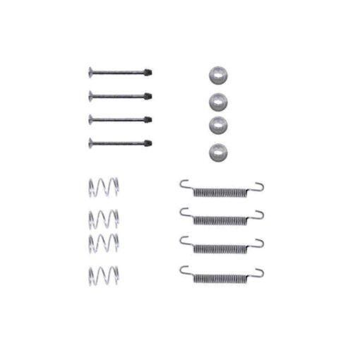 NUOVA VAUXHALL ASTRA mk3//f 2.0i Genuine Mintex Posteriore Freno A Mano Scarpa Kit di accessori