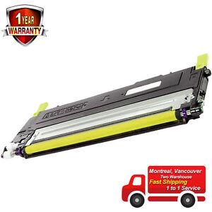 Yellow Toner for Samsung CLT-Y406S SL-C460FW SL-C460W C460FW C460W C410W