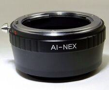 Nikon F AI Lens to Sony NEX E Camera Mount Adapter ILCE a6300 a5100 NEX 5T 5 R