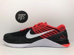2e59e34340e1 Men s Nike Metcon DSX Flyknit Size-12 Red Black White (852930 009 ...