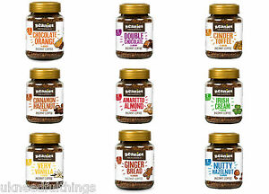 BEANIES-Flavour-Co-Flavoured-Instant-Caff-Decaf-Coffee-50g-Jar-All-Flavours