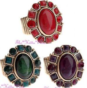 Grande-di-Classe-Ovale-Stile-Regency-Barocco-Decorativo-Oro-Vintage-Grassetto