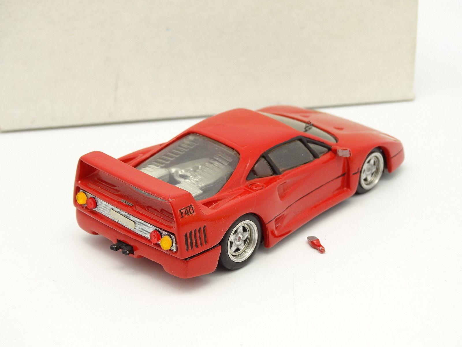 Kit Assembled Assembled Assembled 1 43 - Ferrari F40 Red bd6878