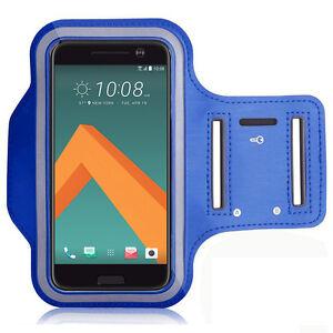 Accessoire-Etui-Housse-Coque-Pochette-Armband-Brassard-Sport-BLEU-Pour-Seri-HTC