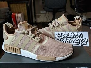 official photos 12c83 0adb2 Image is loading Adidas-NMD-R1-Runner-Nomad-Boost-Raw-Gold-