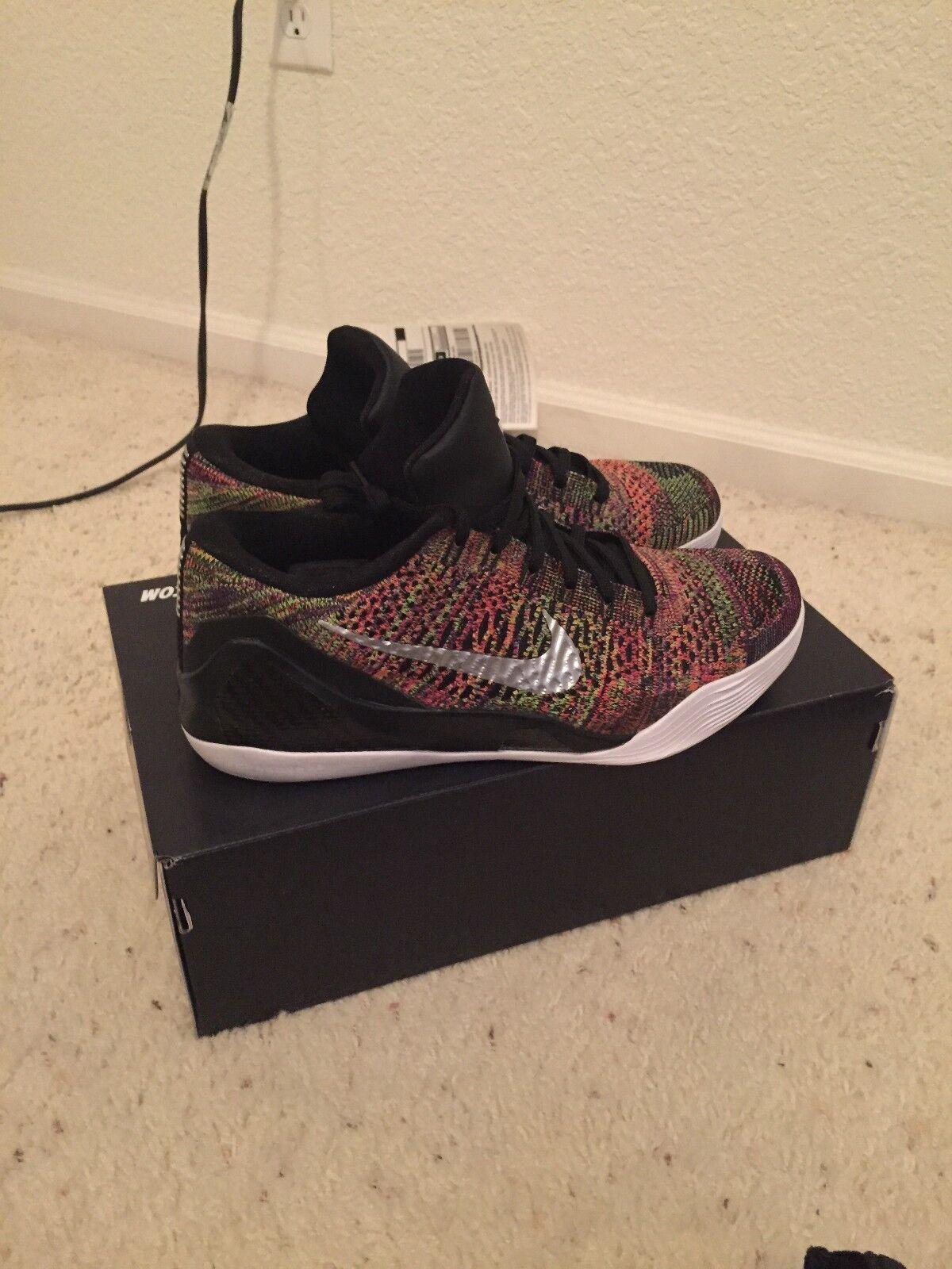 quality design fc8bf e167f Nike ID Kobe 9 IX baja baja baja multicolor comodo baratos zapatos de mujer  zapatos de