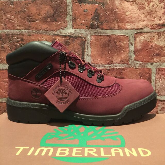 WATERPROOF FIELD BOOT BURGUNDY