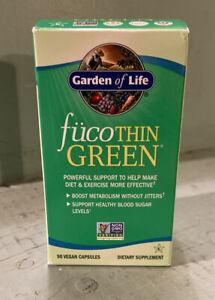 New Garden of Life FucoThin Green 90 Capsules Brand NEW Sealed EXP 04/2022