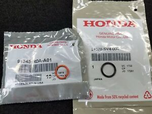 91370-SV4-000 POWER STEERING PUMP O-RING SET For Honda Replaces 91345-RDA-A01