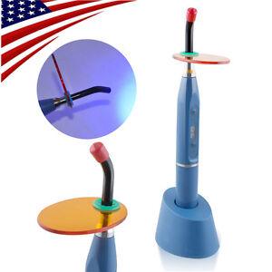 Blue-Dentist-Dental-5W-Wireless-Cordless-LED-Curing-Light-Lamp-1500MW-USA-Stock