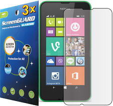 3x Clear LCD Screen Protector Guard Shield Cover Protective Film Nokia Lumia 530