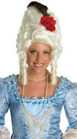 Fun Red Rose Marie Antoinette Wig Womens Renaissance Party Costume Free Cap 159