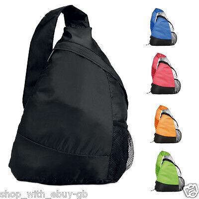 Lightweight Mono Strap Bag - Folding Shoulder Bag Monostrap School Gym Rucksack