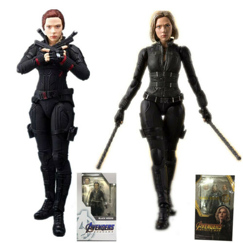 2 styles 6inch Avengers Endgame 4 Figuarts Black Widow Action Figure Model Toys