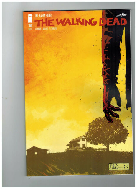THE WALKING DEAD #193  1st Printing - Last Issue             / 2019 Image Comics
